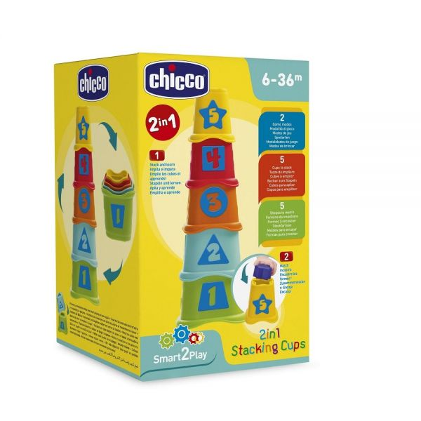 Chicco® - 2 in 1 Stapelbecher