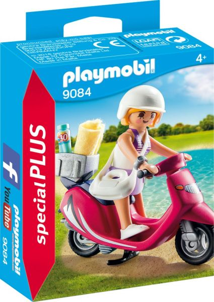 PLAYMOBIL® Special Plus - Strand Girl mit Roller