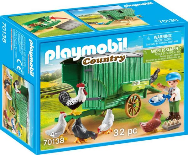 PLAYMOBIL® Country - Mobiler Hühnerstall