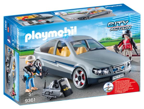 PLAYMOBIL® City Action - SEK Zivilfahrzeug
