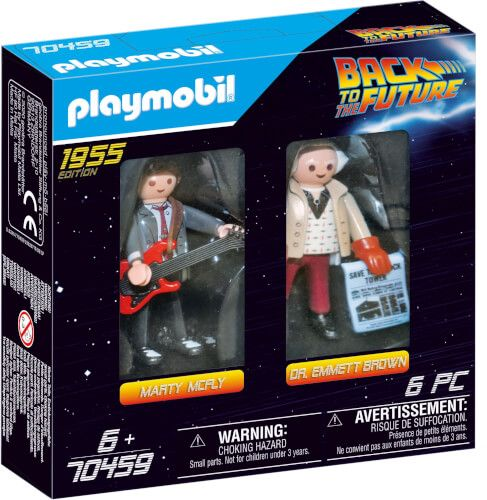 PLAYMOBIL® Back to the Future - Marty Mcfly und Dr. Emmett Brown