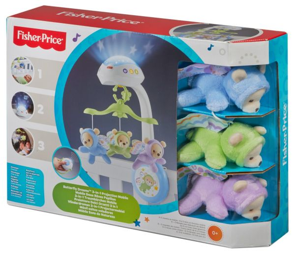 Fisher Price® - 3 in 1 Traumbärchen Mobile
