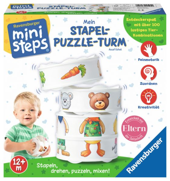 ministeps® - Mein Stapel-Puzzle-Turm