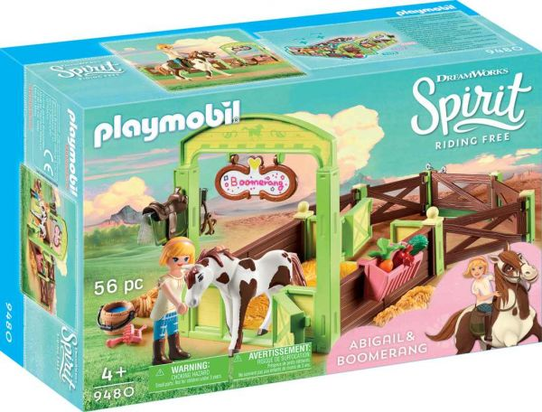 PLAYMOBIL® Spirit Riding Free - Pferdebox Abigail, Boomerang