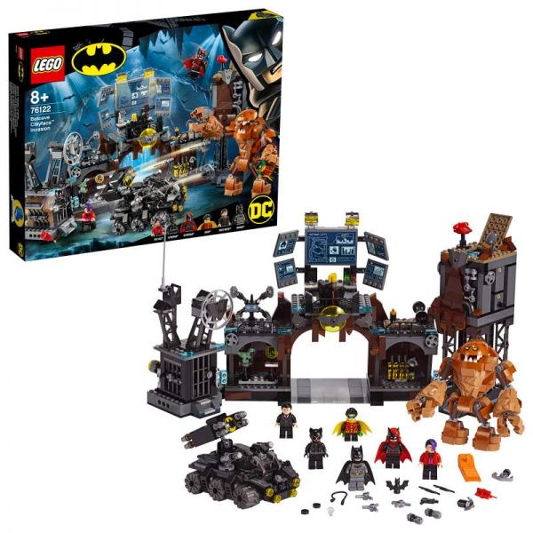 LEGO® DC Super Heroes - Clayface™ Invasion in die Bathöhle