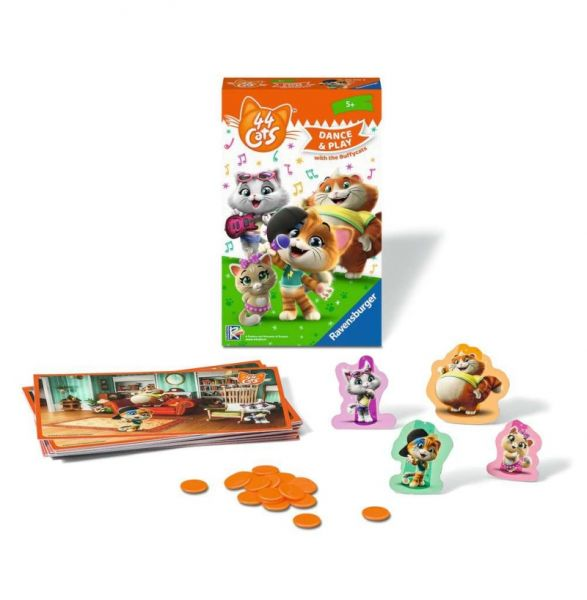 Ravensburger® Spiele - 44 Cats: Dance & Play with the Buffycats