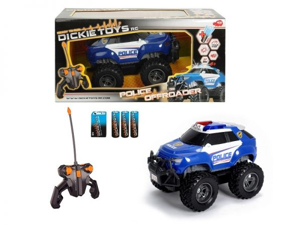 Dickie - RC Police Offroader, RTR