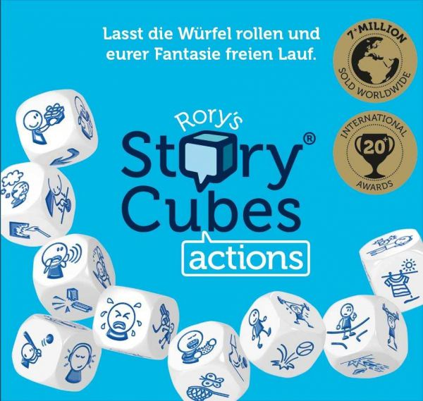 Hutter Trade - Rory´s StoryCubes® Action
