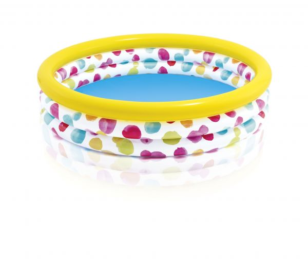 INTEX - 3-Ring Pool Cool Dots