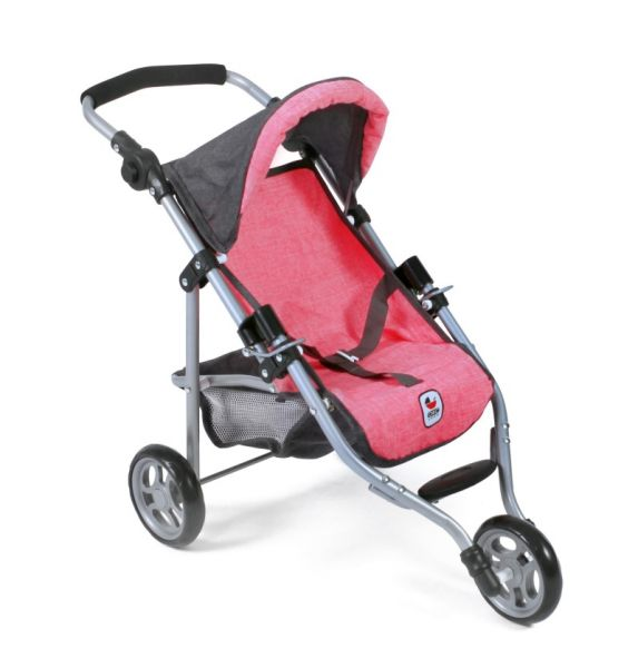 Chic 2000 - Jogging Buggy Lola, anthrazit-pink