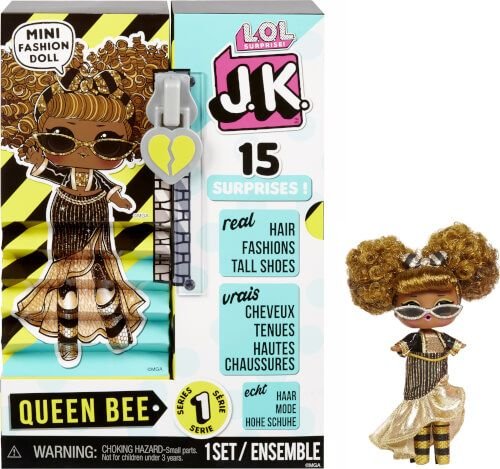 L.O.L. Surprise! - J.K. Mini Fashion Doll, Queen Bee