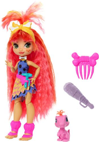 Mattel - Cave Club Emberly Puppe