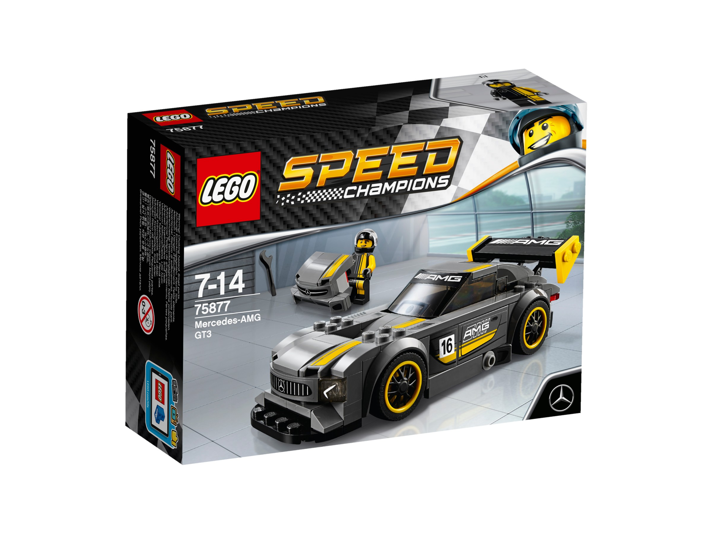 LEGO Speed Champions Mercedes AMG GT3