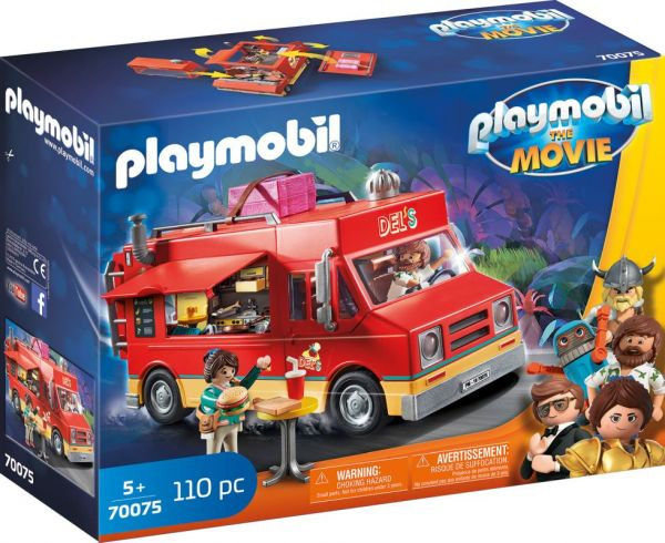 PLAYMOBIL® THE MOVIE - Del's Food Truck