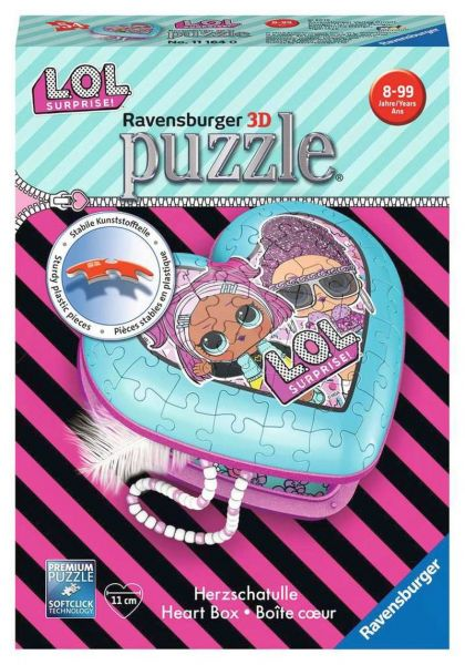 Ravensburger® Puzzle L.O.L. Surprise - Herzschatulle