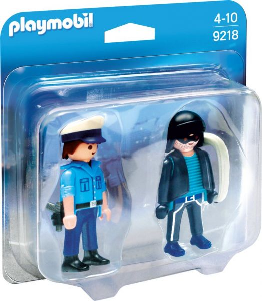 PLAYMOBIL® Duo Pack - Polizist und Langfinger