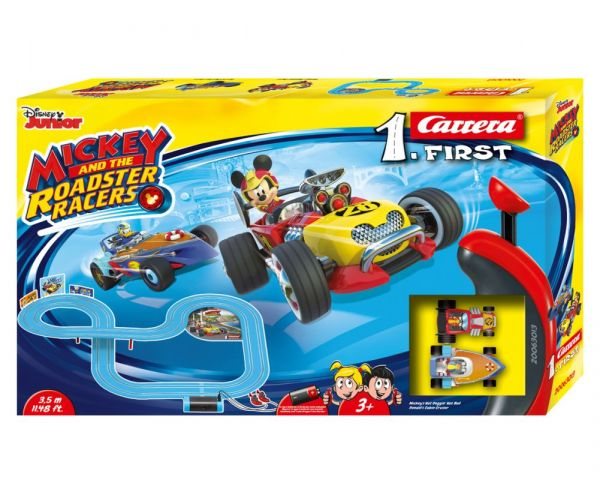 Carrera® FIRST - MICKEY AND THE ROADSTER RACERS