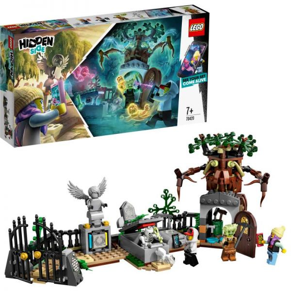 LEGO® Hidden Side™ - Geheimnisvoller Friedhof