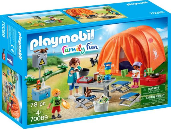 PLAYMOBIL® Family Fun - Familien Camping
