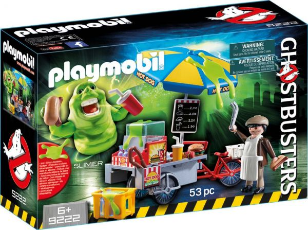 PLAYMOBIL® Ghostbusters - Slimer mit Hot Dog Stand