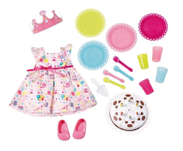 BABY born® - Deluxe Party Set