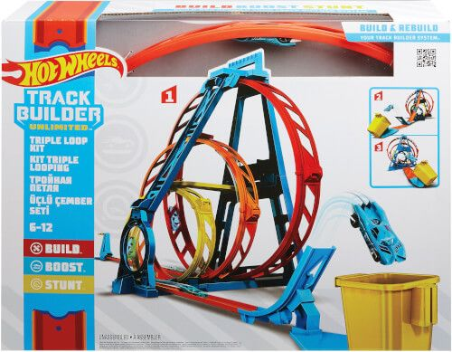 Hot Wheels® - Track Builder Unlimited Looping-Set