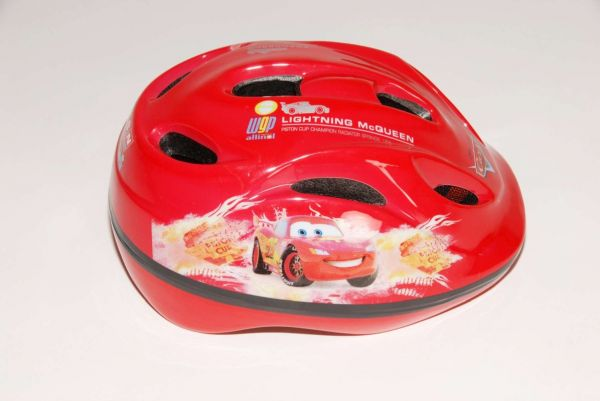 Volare Disney Cars - Kinder Fahrradhelm Deluxe