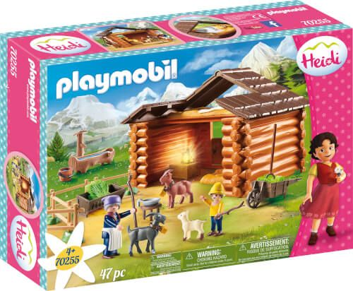PLAYMOBIL® Heidi - Peters Ziegenstall