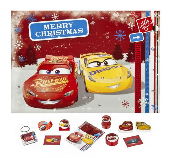Undercover Disney® Cars - Adventskalender