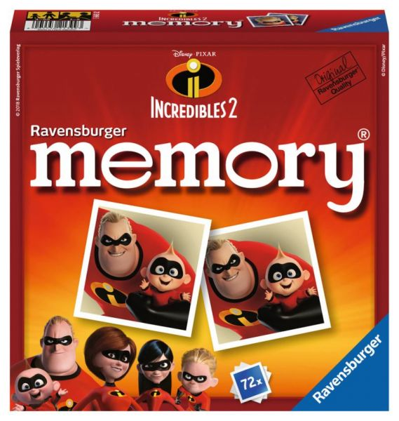 Ravensburger® Spiele - Disney/Pixar The Incredibles 2 memory