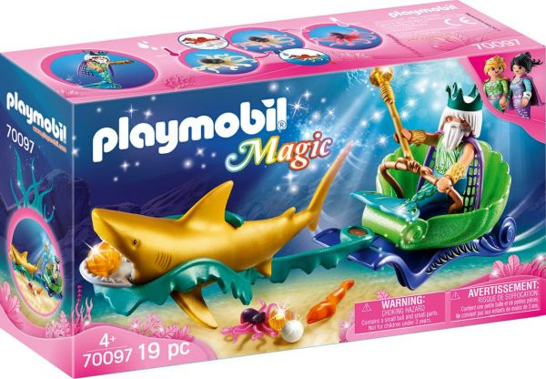 PLAYMOBIL® Magic - Triton mit Haikutsche