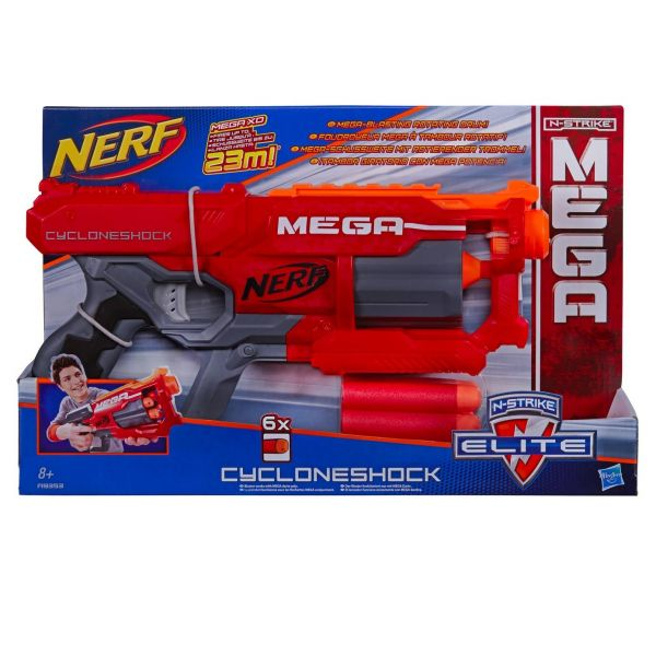 NERF N-Strike -  Elite Mega Cyclone Shock