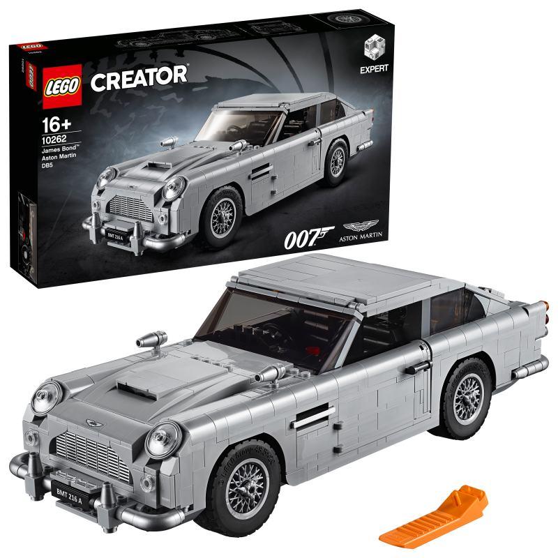 Lego Creator Expert James Bond Aston Martin Db5 Lego Marken Teddy Toys Kinderwelt