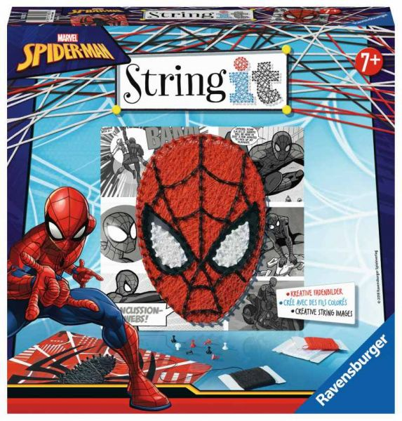 Ravensburger® Spiele - String it Midi Spiderman