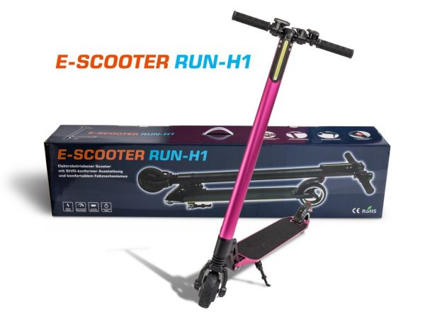 Elektro Scooter Run H1, pink