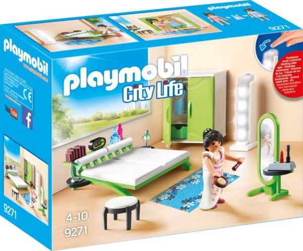 PLAYMOBIL® City Life - Schlafzimmer