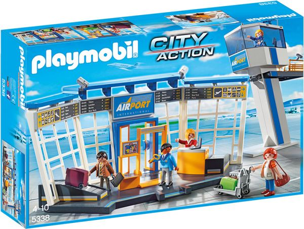 PLAYMOBIL® City Action - City Flughafen mit Tower
