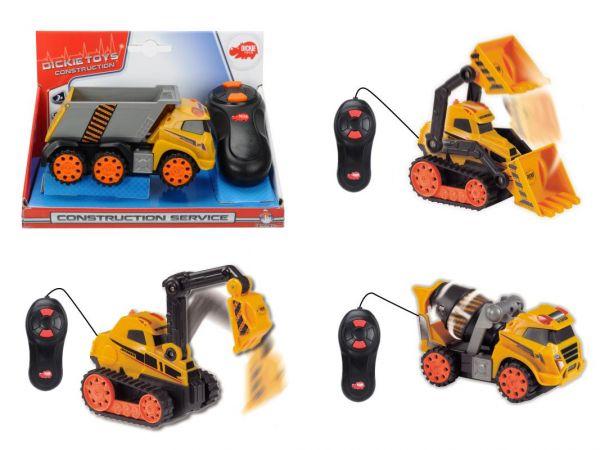 Dickie Toys - Construction Service, sortiert