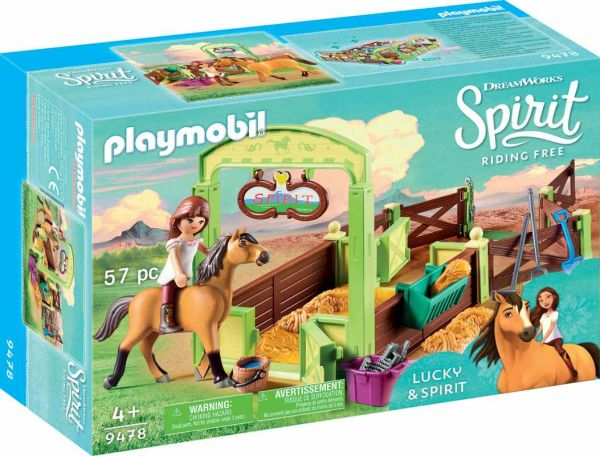 PLAYMOBIL® Spirit Riding Free - Pferdebox Lucky und Spirit