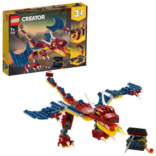 LEGO® Creator 3 in 1 - Feuerdrache