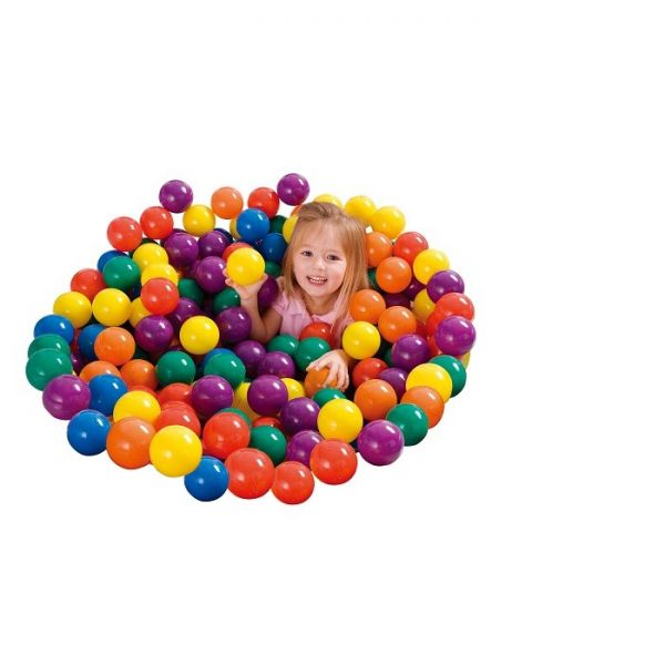 INTEX - 100 Fun Ballz, Bälle bunt