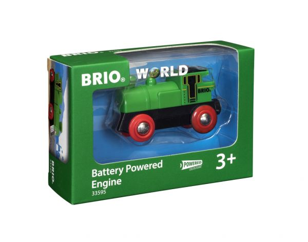 BRIO - Speedy Green Batterielok