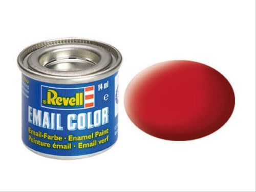 Revell Modellbau - Email Color Karminrot, matt 14 ml