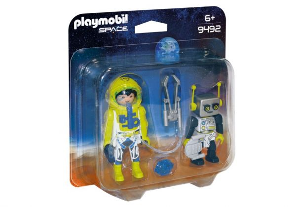 PLAYMOBIL® Space - Duo Pack Astronaut und Roboter