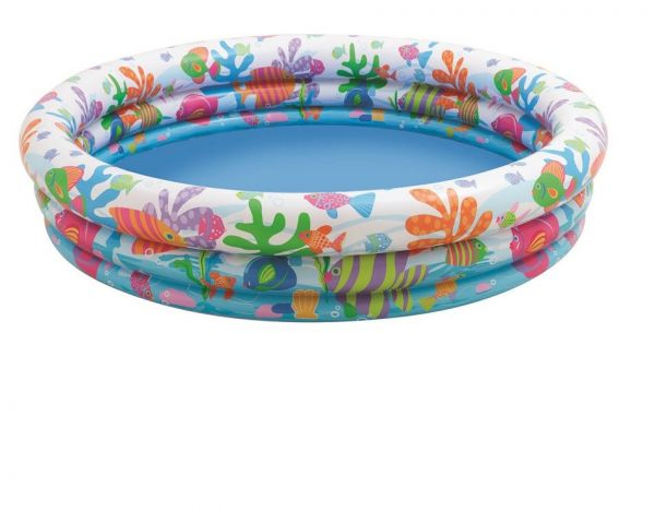 INTEX - 3 Ring Pool Fishbowl 132 x 28 cm