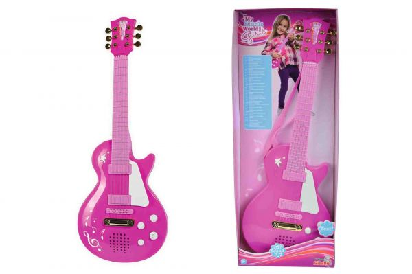 SIMBA My Music World - Rockgitarre Girls, pink