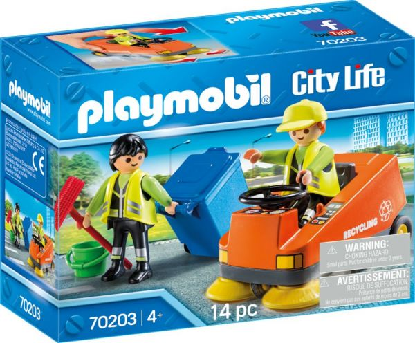 PLAYMOBIL® City Life - Kehrmaschine