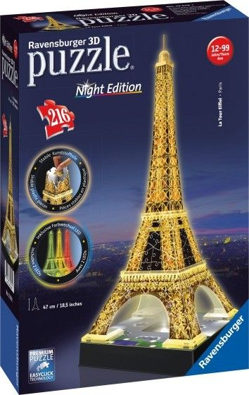 Ravensburger® 3D Puzzle - Eiffelturm Night Edition