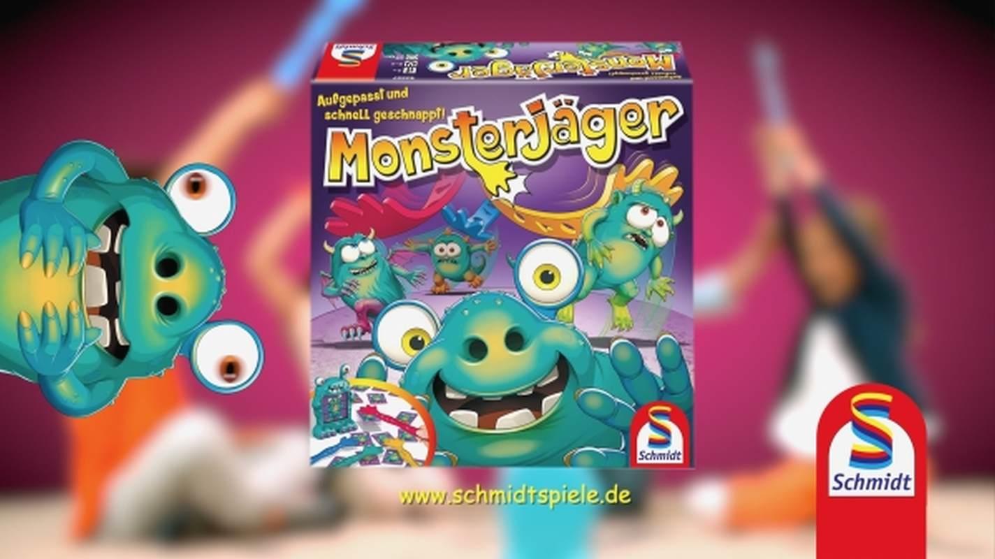 Monsterjäger Schmidt Spiele