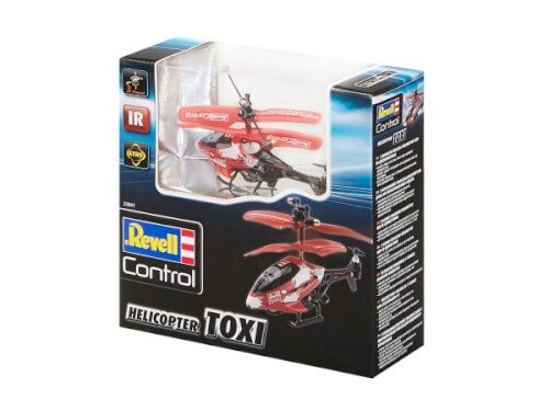 Revell Control - Helicopter Toxi, rot